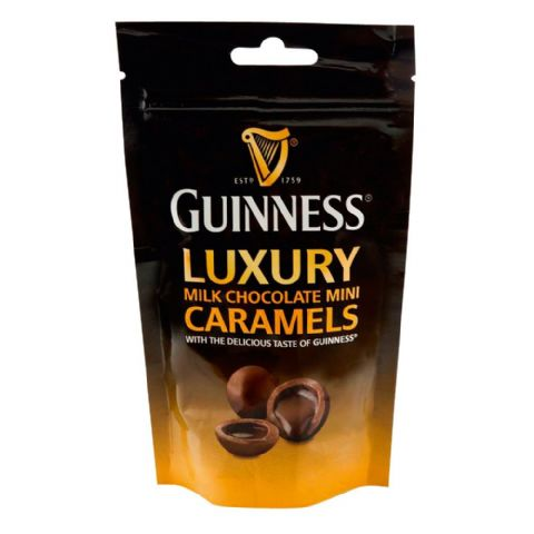 Guinness - Luxury Milk Chocolate Mini Caramels Pouch Lir 102g